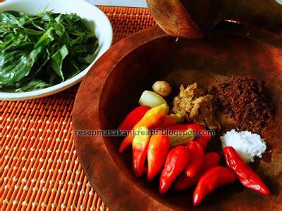 Indonesia merupakan salah satu resep sambal khas indonesia satu ini, sih, gampang banget! RESEP SAMBAL GOANG DADAKAN KHAS SUNDA - Aneka Resep ...