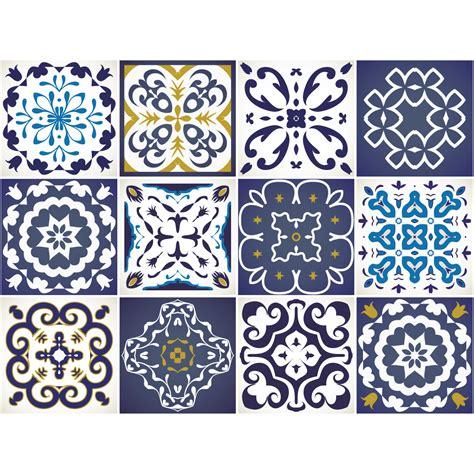 stickers carrelage cuisine 12 stickers carrelages azulejos janeiro cuisine