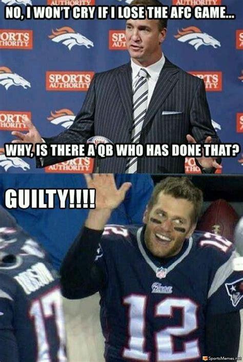 Tom Brady Peyton Manning Meme - manning and brady again meme