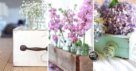 fiori di legno fai da te centrotavola in legno fai da te 15 idee per un tocco