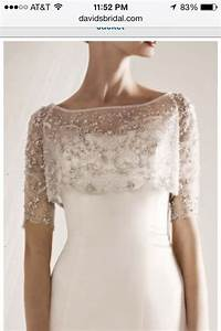 shoulder cover the dress pinterest With wedding dress shoulder cover