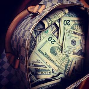 swag money lv bag   Tumblr