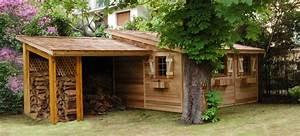 red cedar jardin fabricant abris de jardin en bois With fabricant d abri de jardin