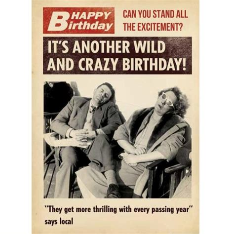 wild  crazy birthday card birthday cards cards