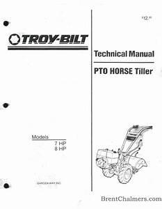 34 Troy Bilt Pony Pto Diagram