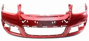 Front Bumper Cover 05-10 Vw Jetta Mk5 Sedan