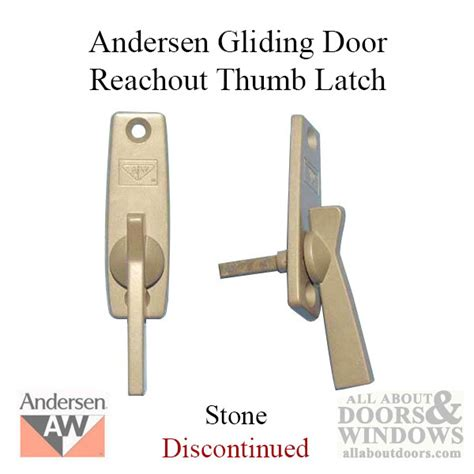 thumb latch andersen reachout style