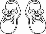 Cartoon Shoes Clipart Clothes sketch template