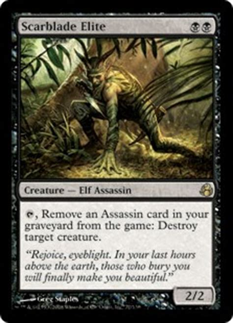 Mtg Modern Assassin Deck by Card Search Search Assassin Gatherer Magic The
