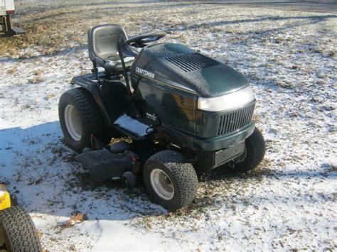 craftsman garden tractor kohler 26 hp engine on craftsman mower kohler free