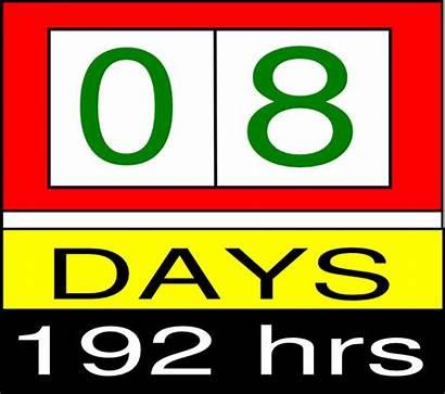 Countdown Clipart Clock Clip Timer Segments Cliparts