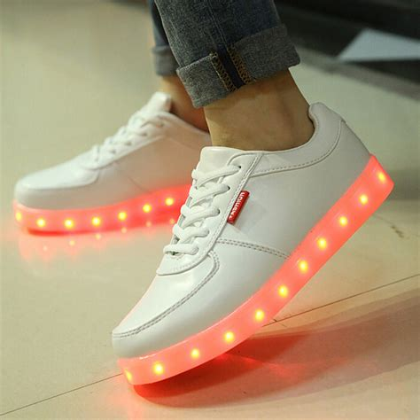 led light up shoes in stores fashion ledsneakersshop