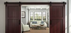 51 awesome sliding barn door ideas home remodeling With barns with sliding doors