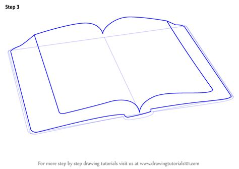 learn   draw  open book everyday objects step