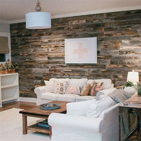 how to install a wood accent wall can you create a reclaimed wood accent wall in under an hour