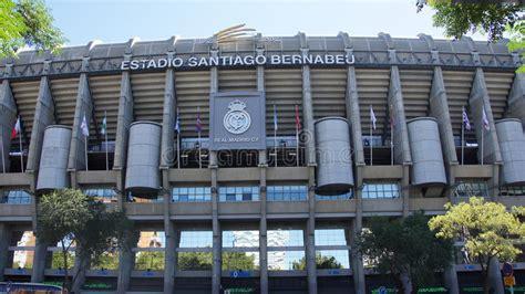 Real Madrid Football Stadium In Spain Editorial Image ...