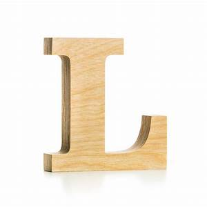 wooden letter crafted from quality birch plywood hand With wooden letter l