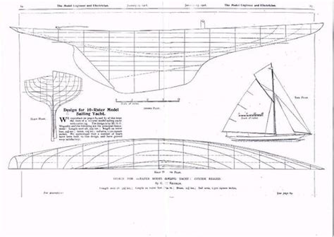 model sailing yacht plans wapster flickr