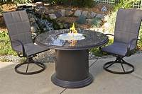 fire pit dining table Outdoor Greatroom Grand Colonial Dining Height Gas Fire ...