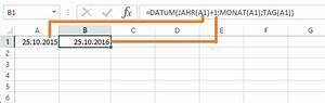 Excel Wochentag Berechnen : excel datum spielereien 2 8 datum zerlegen und berechnen ~ Haus.voiturepedia.club Haus und Dekorationen