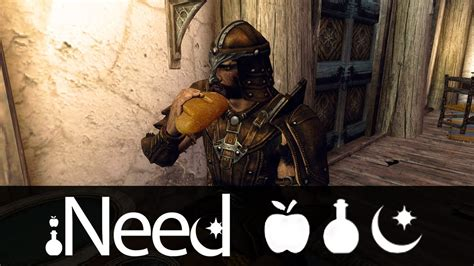 mod鑞es cuisines skyrim mod ineed food water and