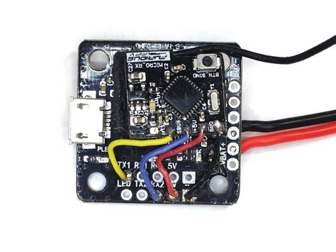 mini f3 flight controller frsky receiver wiring and configuration flex rc