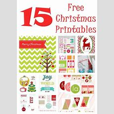 Free Christmas Printables  {15 Free Downloads}