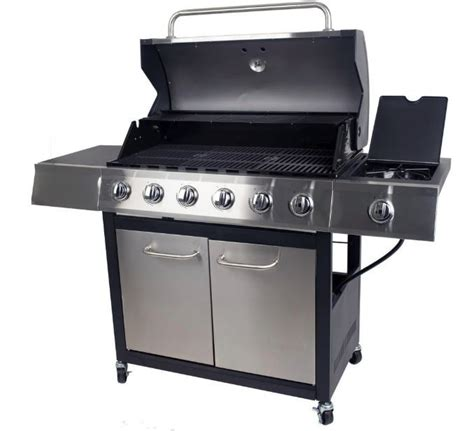 Home Depot West Side by Home Depot Dyna Glo 6 Burner Stainless Steel Grill W