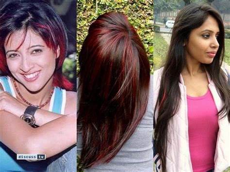 hair colour trends  inspirations  indian