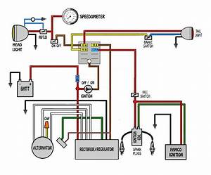 Ignition Switch Wiring Diagram For Motorcycle