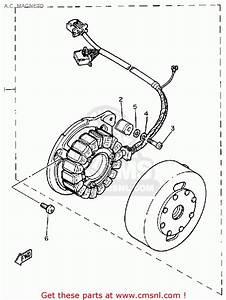 Yamaha Sr500 1981 Usa A C  Magneto