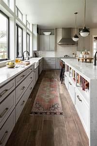 Modern, Farmhouse, Kitchen, With, Vintage, Flair