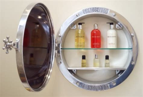 porthole bathroom medicine cabinet chadder co mirrors and mirror cabinets traditional