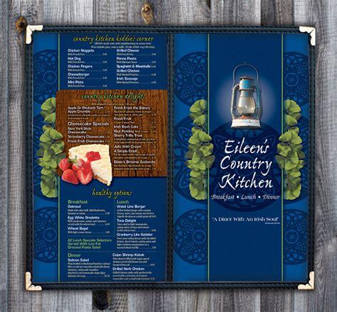eileens country kitchen eileen s country kitchen menu on behance 3537