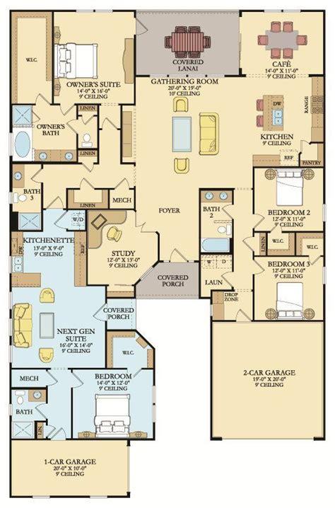 genesis  home plan  palencia north   lennar    private rooms concept