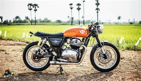 Royal Enfield Interceptor 650 Modification by Royal Enfield Interceptor 650 Modified Into Cafe Racer