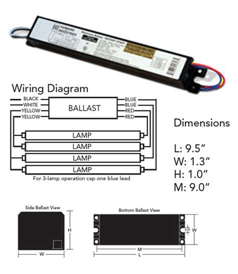 fb32t8 t8 fluorescent ballast 3 4 l 120v 277v t8
