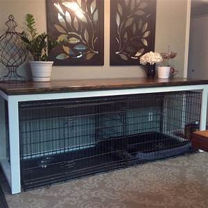 best 25 extra large dog kennel ideas on pinterest With turn dog crate into table