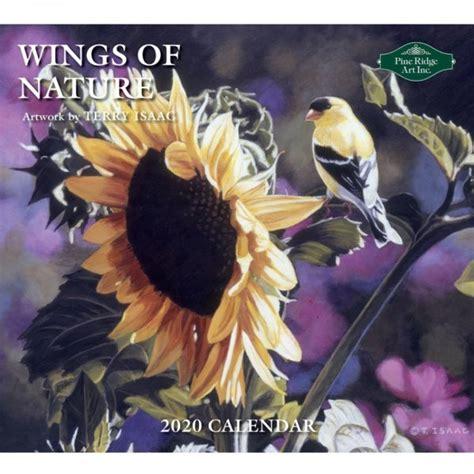 wings nature calendar