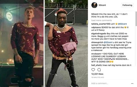 50 Cent Reacts To Lil Uzi Vert's Questionable Fashion ...