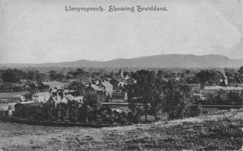 Oswpcl1915  Llanymynech Showing Breidden Hills