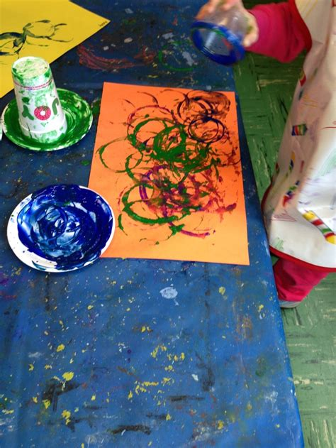 circle art  action art projects    year olds
