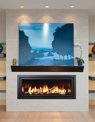 linear gas fireplace fullview linear d 233 cor gas fireplaces by mendota america
