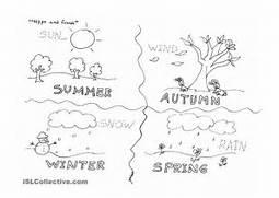 Four Seasons Worksheet Free ESL Printable Worksheets Made By Match Seasons Weather Seasons Kindergarten Gif Four Seasons Kindergarten Worksheet Car Tuning Seasons Answer The Questions