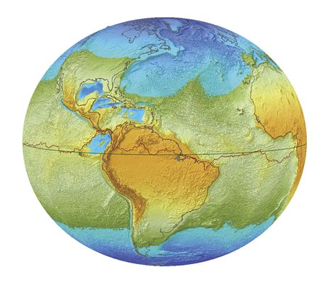 """newtonian gravity - Rivers that flow """"uphill"""" due to Earth ..."""