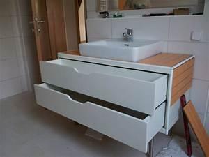 Waschbeckenunterschrank Kleines Bad : waschbeckenunterschrank mit schubladen 32 designs ~ Markanthonyermac.com Haus und Dekorationen
