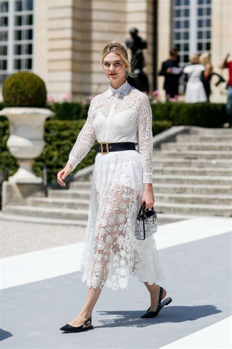 Karlie Kloss Christian Dior Haute Couture Show