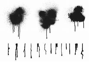 Spraypaint Drip Vectors - Download Free Vector Art, Stock ...