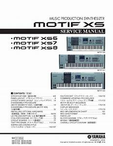 Yamaha Motif Xs6 Xs7 Xs8 Service Manual Download  Schematics  Eeprom  Repair Info For