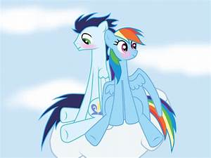 MLP: Soarin and Rainbow Dash by Rulette on DeviantArt